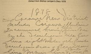 Bp Lanig Diary re Corowa 1