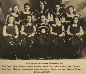 Cor Eistedd 1921 - Shield award