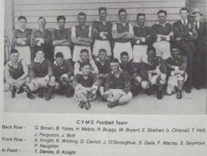 CYMS F-ball Team