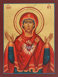 Imm Heart of Mary - Icon