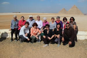 Wagga Pilgrims visit Pyramids in Egypt