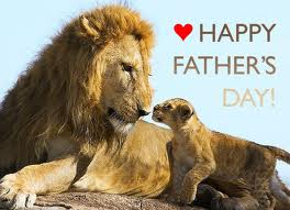 Fathers Day - Lion & cub