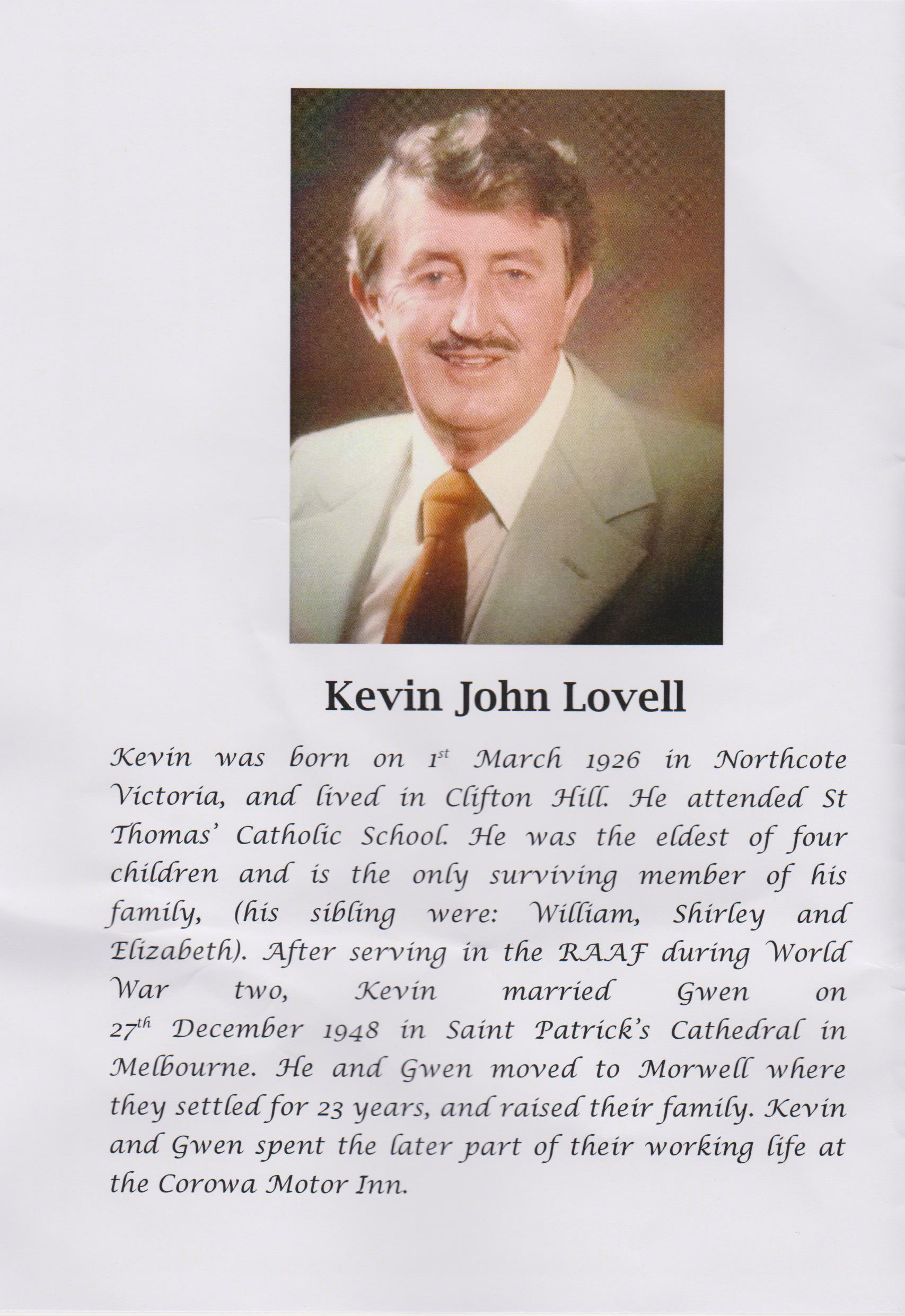 Kevin And Lovell