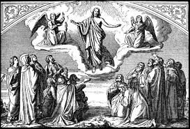 ASCENSION OF THE LORD - etching