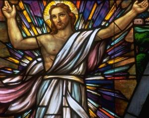 ASCENSION OF THE LORD - modern stained glass - catherine drexel ch
