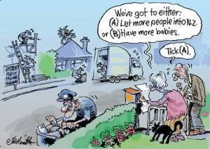 Cartoon - NZ ageing