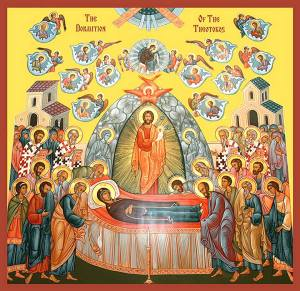 Assumption of Mary #4 - Icon The Dormition