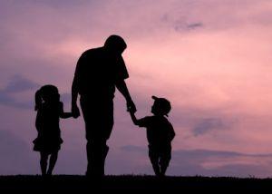 fatherhood silhouette