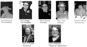 CWSG Inaug Exec 1947 pics