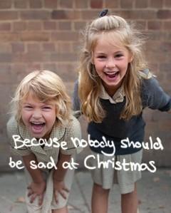Nobody unhappy at Christmas