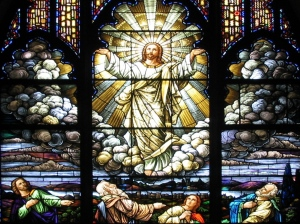 Transfiguration - stained glass