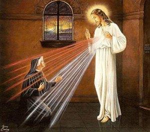 Faustina - vision of Jesus
