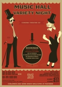 Music Hall Variety Night - flyer image