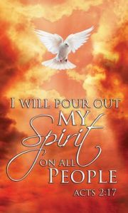I will pour out my Spirit