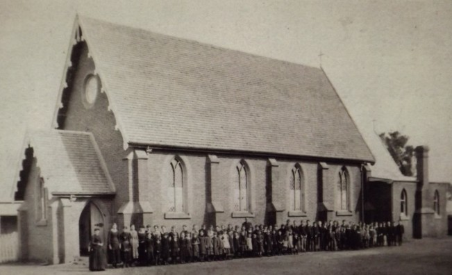 St Patricks Balldale - early