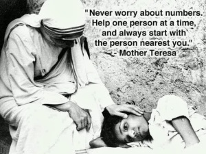 Mother Teresa lOVE IN ACTION
