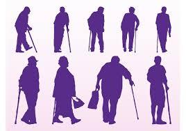 elderly-silhouettes